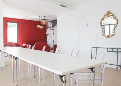 L'intérieur de la salle de réunion Le Choulans